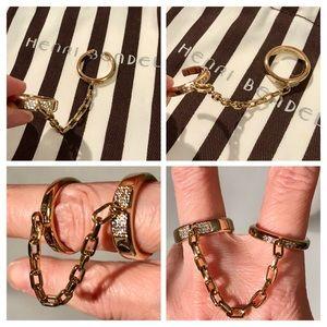 HENRI BENDEL Double Rings